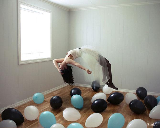 Autoportrete suprarealiste la 18 ani, de Xin Li - Poza 6