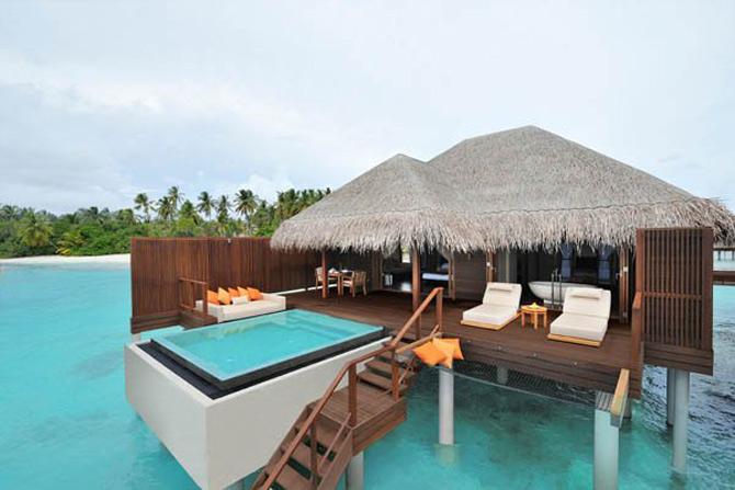 Locuinte lacustre de lux in Maldive - Poza 1