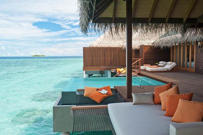 Locuinte lacustre de lux in Maldive - Poza 2
