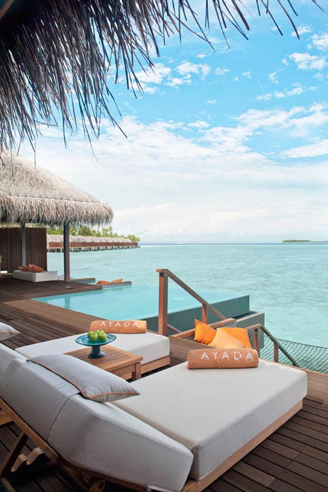 Locuinte lacustre de lux in Maldive - Poza 3