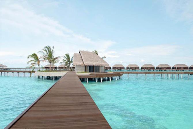 Locuinte lacustre de lux in Maldive - Poza 4