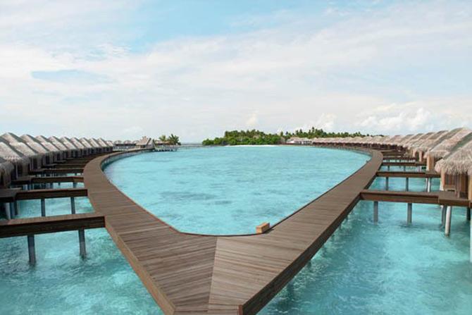 Locuinte lacustre de lux in Maldive - Poza 5