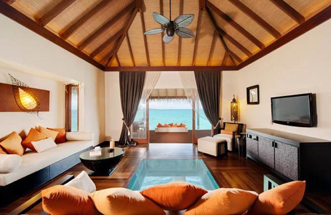 Locuinte lacustre de lux in Maldive - Poza 9
