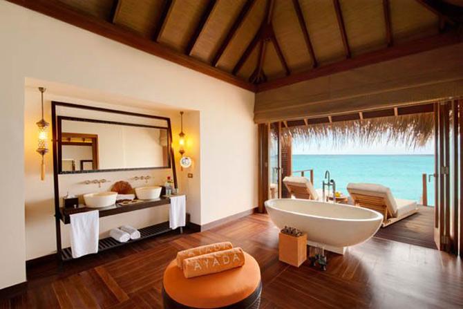 Locuinte lacustre de lux in Maldive - Poza 11