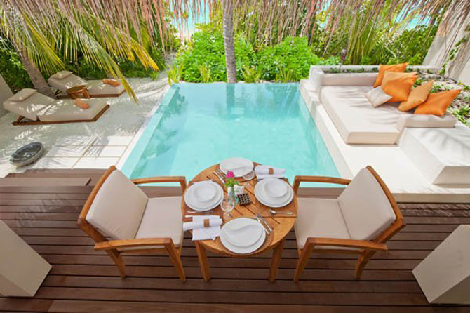 Locuinte lacustre de lux in Maldive - Poza 13