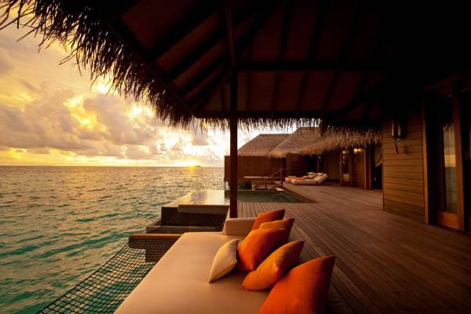 Locuinte lacustre de lux in Maldive - Poza 15