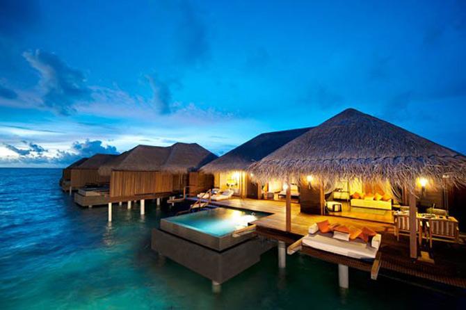 Locuinte lacustre de lux in Maldive - Poza 16