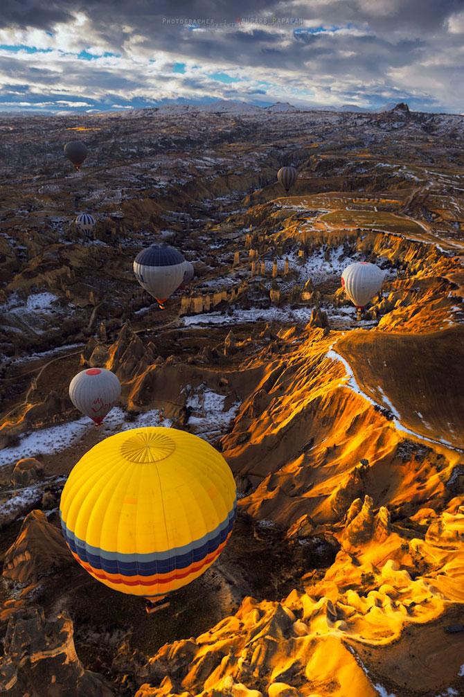 Cu balonul peste Cappadocia - Poza 1