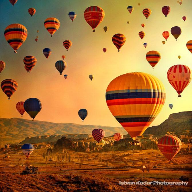 Cu balonul peste Cappadocia - Poza 2