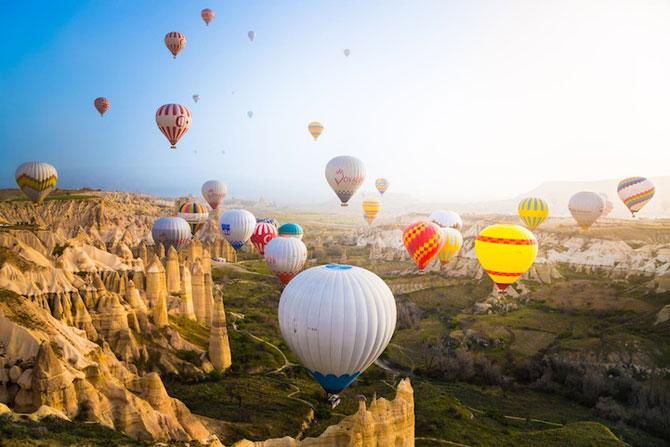Cu balonul peste Cappadocia - Poza 3