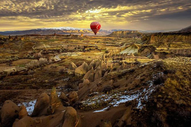 Cu balonul peste Cappadocia - Poza 4