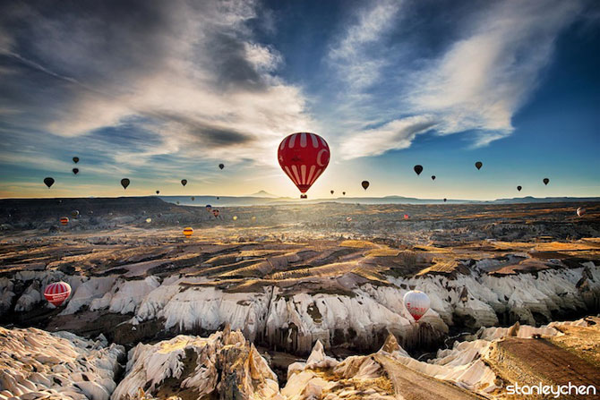 Cu balonul peste Cappadocia - Poza 5