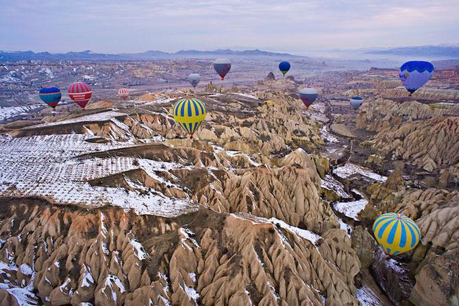 Cu balonul peste Cappadocia - Poza 6