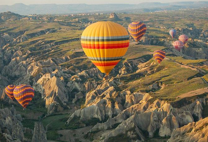Cu balonul peste Cappadocia - Poza 7