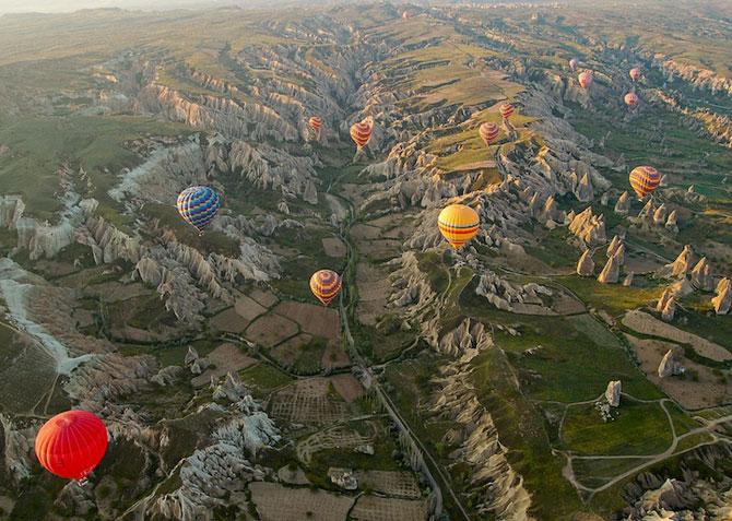 Cu balonul peste Cappadocia - Poza 9