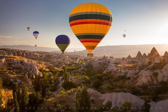 Cu balonul peste Cappadocia - Poza 11
