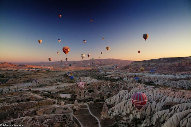 Cu balonul peste Cappadocia - Poza 12
