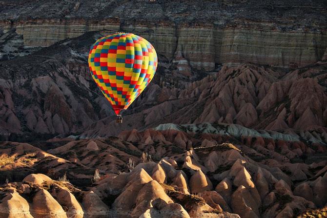 Cu balonul peste Cappadocia - Poza 13
