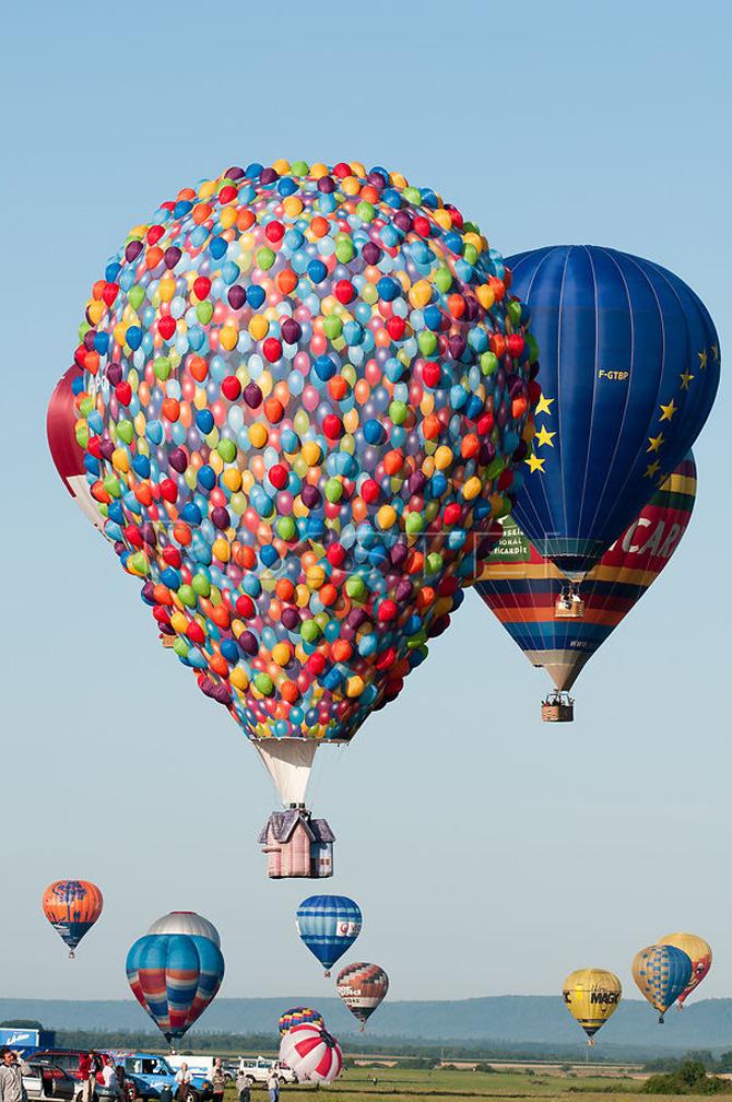 Inconjurul lumii in 540 de baloane Disney - Poza 4