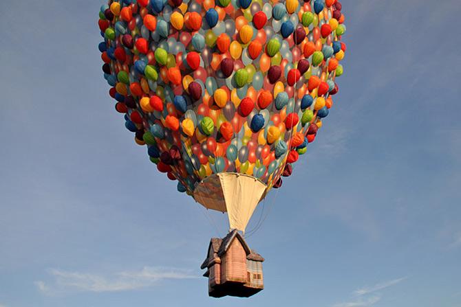 Inconjurul lumii in 540 de baloane Disney - Poza 6