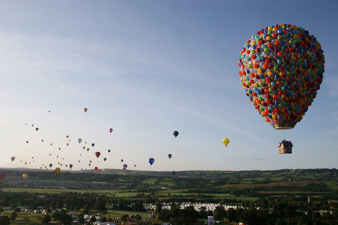 Inconjurul lumii in 540 de baloane Disney - Poza 10