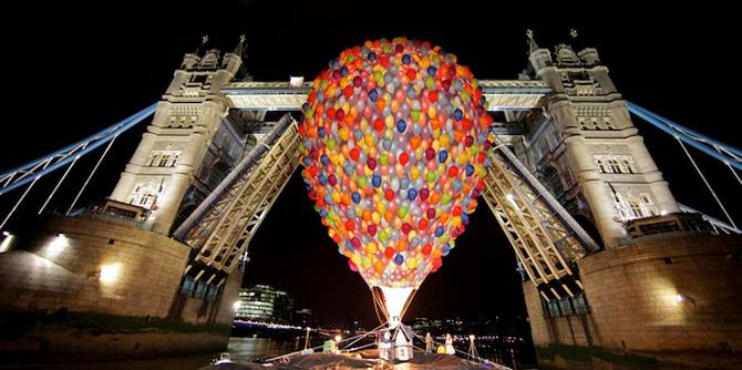 Inconjurul lumii in 540 de baloane Disney - Poza 11