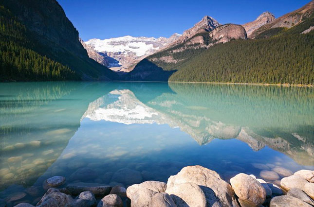 30 de fotografii superbe ale lacului Louise - Poza 3
