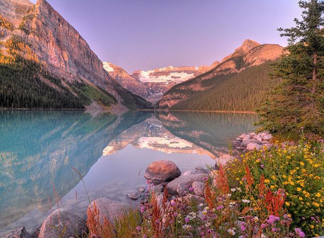 30 de fotografii superbe ale lacului Louise - Poza 4