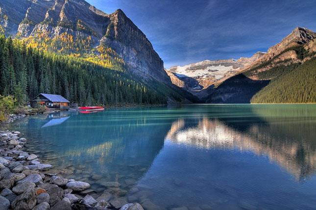 30 de fotografii superbe ale lacului Louise - Poza 6