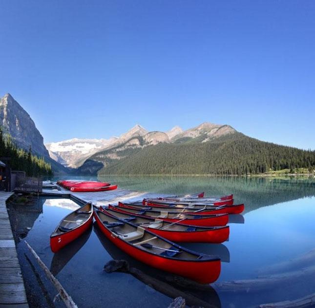 30 de fotografii superbe ale lacului Louise - Poza 29