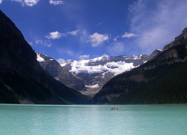 30 de fotografii superbe ale lacului Louise - Poza 16