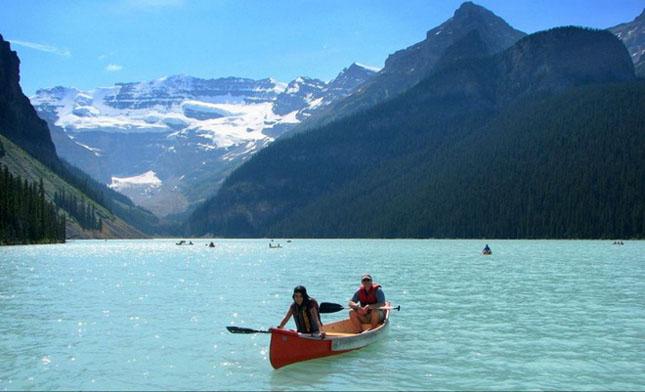30 de fotografii superbe ale lacului Louise - Poza 17