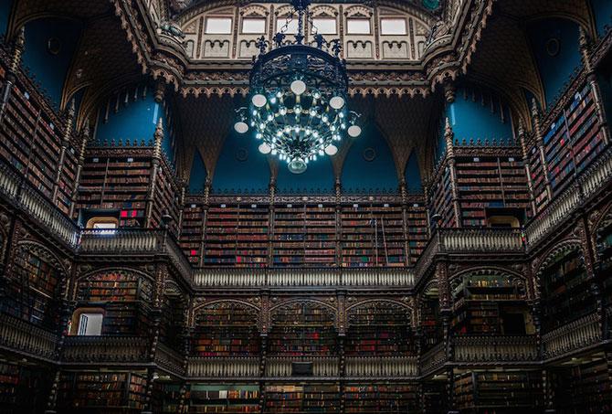 Superba Biblioteca Regala Portugheza de la Rio de Janeiro - Poza 6