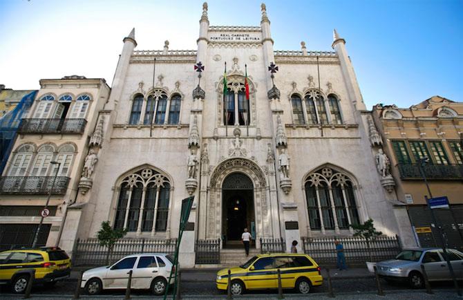 Superba Biblioteca Regala Portugheza de la Rio de Janeiro - Poza 7