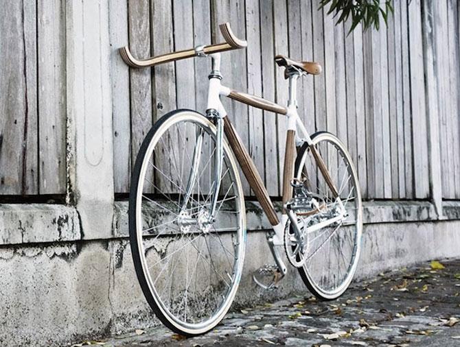 PLYbike, bicicleta cu cadru din lemn - Poza 2