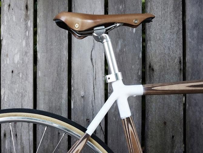 PLYbike, bicicleta cu cadru din lemn - Poza 3