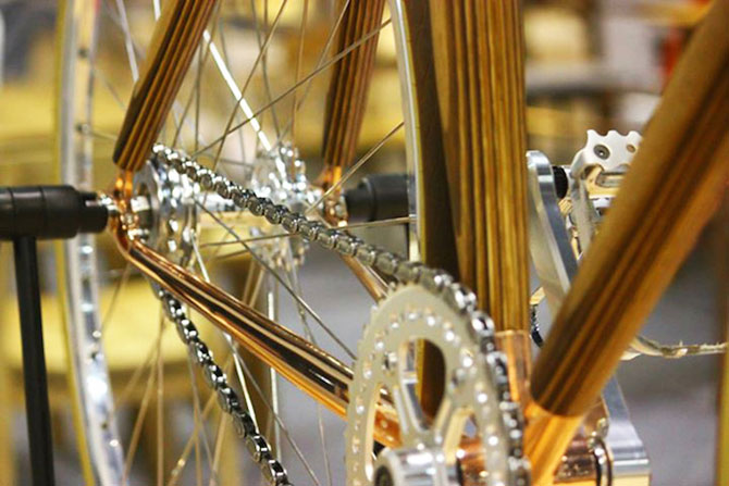 PLYbike, bicicleta cu cadru din lemn - Poza 4