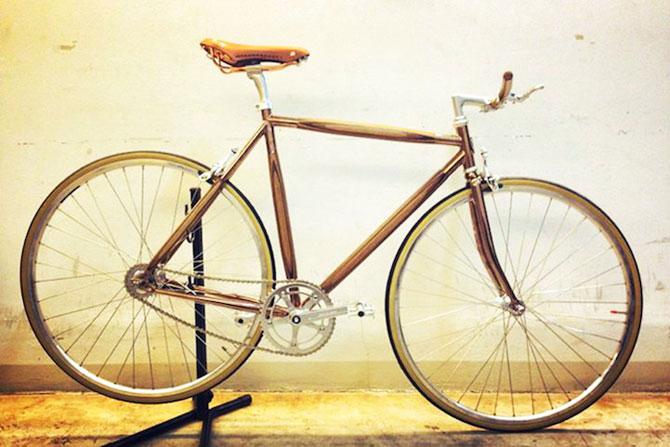 PLYbike, bicicleta cu cadru din lemn - Poza 5