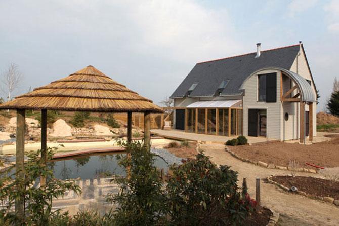 Casa traditional-bio, de Patrice Bideau - Poza 9