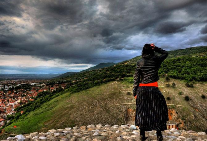 Blerta Zabergja e Alice in Kosovo, la inaltime - Poza 5