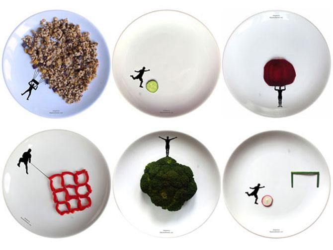 Farfurii pentru legume sportive, de Boguslaw Sliwinski - Poza 1