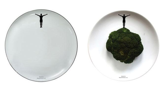 Farfurii pentru legume sportive, de Boguslaw Sliwinski