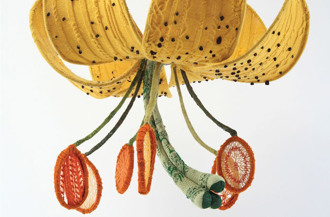 Flori tricotate incredibil de veridice la Gradina Botanica! - Poza 2