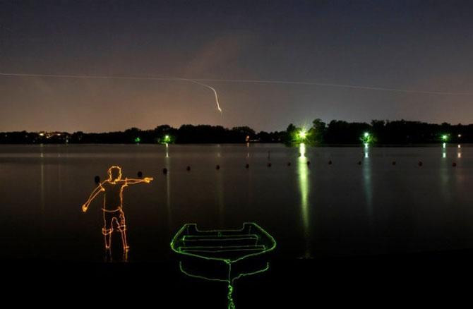Brian Matthew Hart picteaza cu lumina - Poza 1