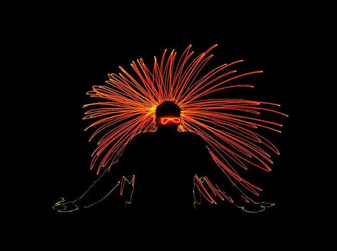 Brian Matthew Hart picteaza cu lumina - Poza 5
