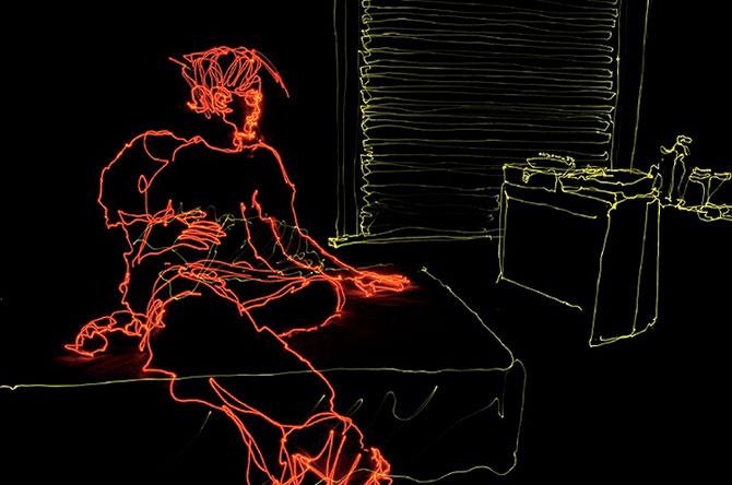 Brian Matthew Hart picteaza cu lumina - Poza 6