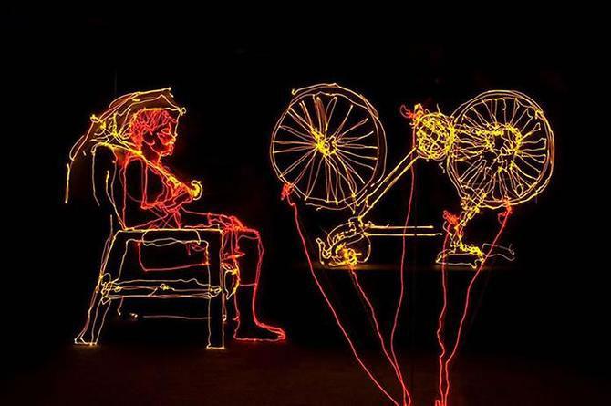 Brian Matthew Hart picteaza cu lumina - Poza 7