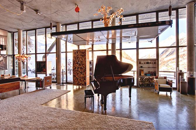 Cabana din Alpi ca un penthouse in Manhattan - Poza 3