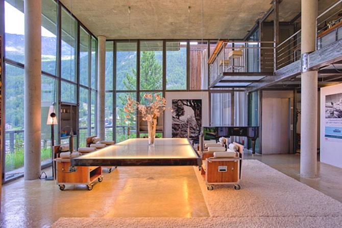 Cabana din Alpi ca un penthouse in Manhattan - Poza 4