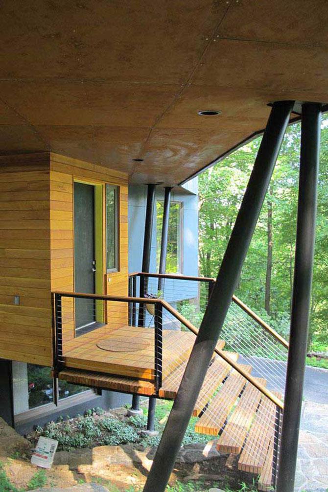 Cabana discret-moderna de Method Design - Poza 8